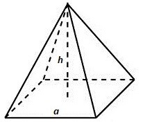 Четырёхугольная пирамида